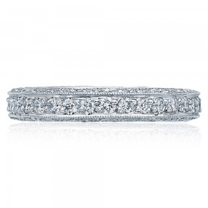 Tacori 18 Karat Crescent Silhouette Wedding Band HT2229