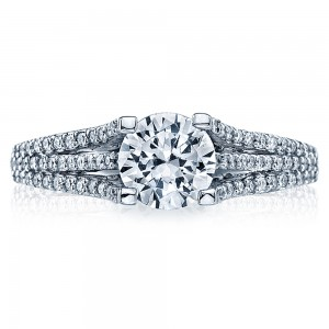 Tacori 18 Karat Simply Tacori Engagement Ring 2634RD65