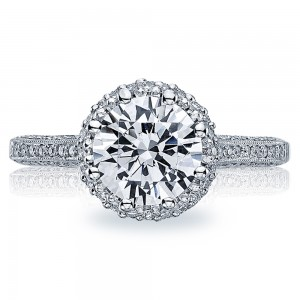 Tacori 18 Karat Solitaire Engagement Ring 2502RDP6.5