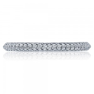 Tacori 2520ET Platinum Wedding Band