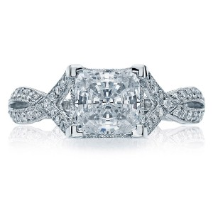 Tacori 2565PRMD6 18 Karat Simply Tacori Engagement Ring