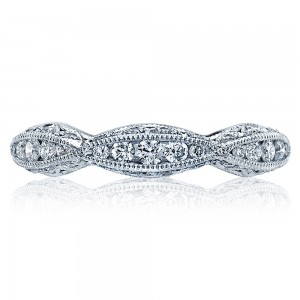 Tacori 2578B Platinum Wedding Band