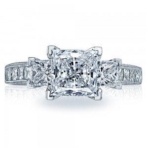 Tacori 2636PR7 Platinum Simply Tacori Engagement Ring