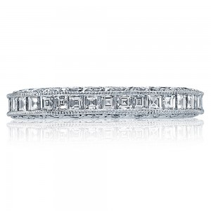 Tacori HT2273B Platinum Wedding Band