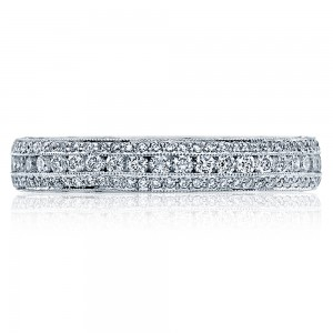 Tacori HT2513RDB Platinum Wedding Band