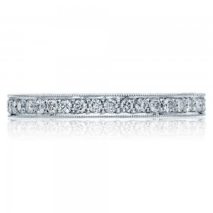 Tacori HT2522B 18 Karat Blooming Beauties Diamond Wedding Band