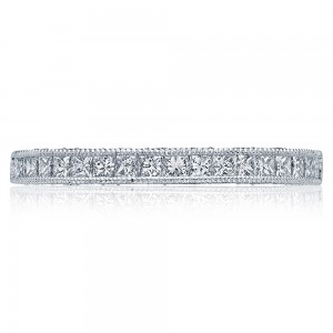 Tacori HT2526B12X 18 Karat Blooming Beauties Diamond Wedding Band