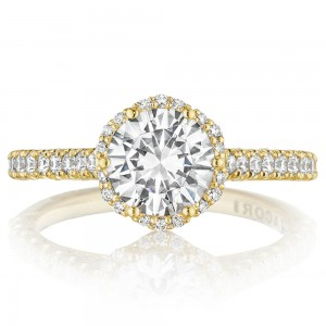 Tacori HT2547RD7Y 18 Karat Tacori Gold Engagement Ring
