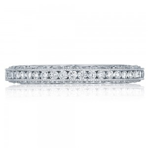 Tacori HT2550B 18 Karat Classic Crescent Diamond Wedding Band