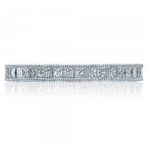 Tacori Platinum Crescent Silhouette Wedding Band HT2510PRB