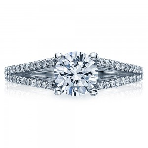 Tacori Platinum Simply Tacori Engagement Ring 2632RD65