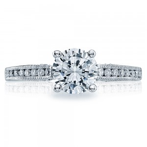 Tacori Platinum Simply Tacori Engagement Ring 3003