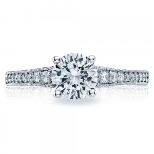 Tacori Platinum Simply Tacori Engagement Ring 3006-3000RD65