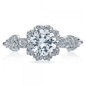 Tacori Platinum Simply Tacori Engagement Ring HT2299