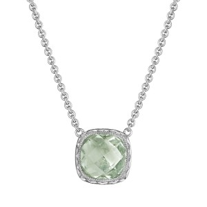 Tacori SN23212 Cushion Gem Necklace with Prasiolite