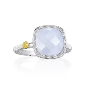 Tacori SR23103 Cushion Gem Ring with Chalcedony