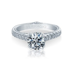 Verragio Couture-0412 Platinum Engagement Ring