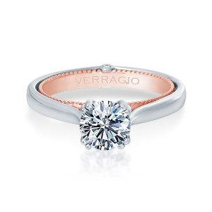Verragio Couture-0418R-TT Platinum Engagement Ring