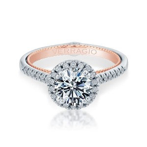 Verragio Couture-0420R-TT Platinum Engagement Ring