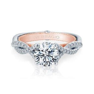 Verragio Couture-0421R-TT Platinum Engagement Ring