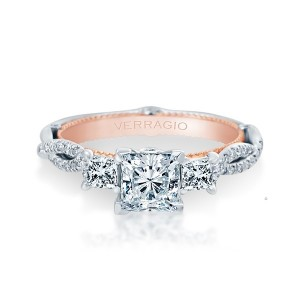 Verragio Couture-0423P-TT Platinum Engagement Ring
