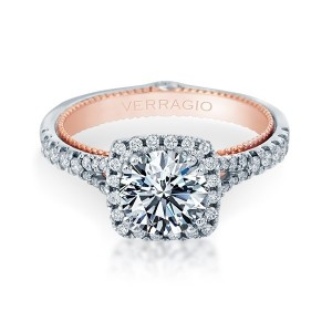 Verragio Couture-0424CU-TT Platinum Engagement Ring
