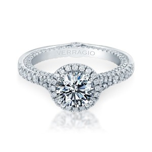 Verragio Couture-0424DR Platinum Engagement Ring