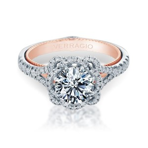Verragio Couture-0426R-TT Platinum Engagement Ring