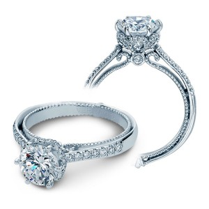 Verragio Couture-0429DR Platinum Engagement Ring