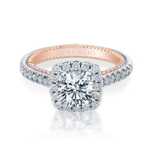 Verragio Couture-0449CU-2WR Platinum Engagement Ring
