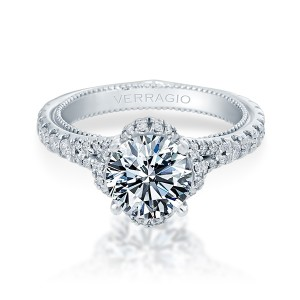 Verragio Couture-0461R Platinum Engagement Ring