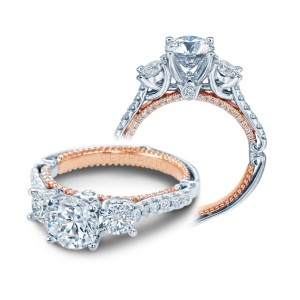 Verragio Couture-0470R-2WR Platinum Engagement Ring