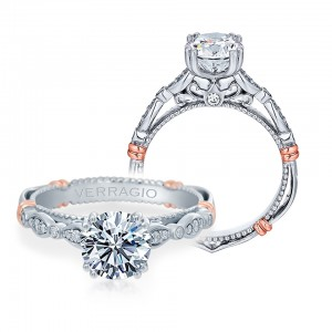 Verragio Parisian-100 Platinum Engagement Ring