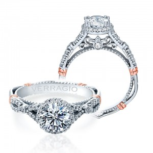 Verragio Parisian-109R Platinum Engagement Ring