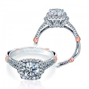 Verragio Parisian-117CU Platinum Engagement Ring