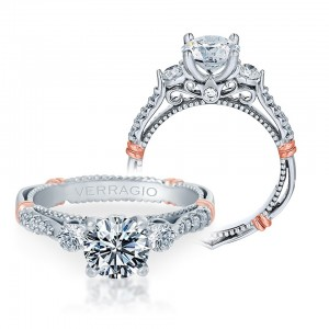 Verragio Parisian-124R Platinum Engagement Ring