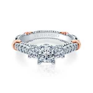 Verragio Parisian-143P Platinum Engagement Ring
