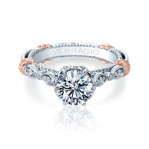 Verragio Parisian-145R Platinum Engagement Ring