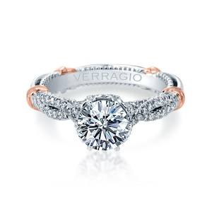 Verragio Parisian-146R Platinum Engagement Ring