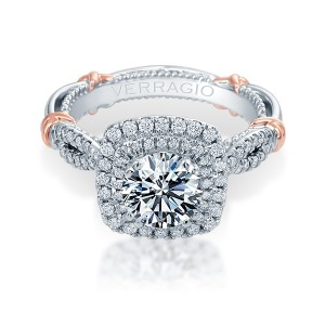 Verragio Parisian-148CU Platinum Engagement Ring