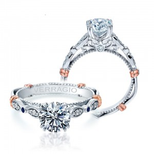 Verragio Parisian-CL-DL100 18 Karat Engagement Ring