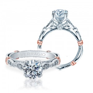 Verragio Parisian-DL100 Platinum Engagement Ring