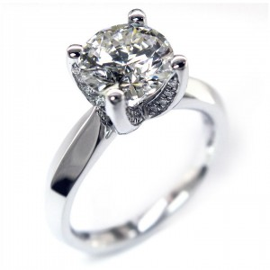 Verragio Platinum Classico Engagement Ring ENG-0246