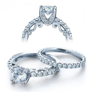 Verragio Platinum Insignia Engagement Ring INS-7002