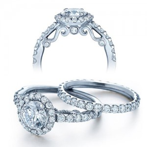 Verragio Platinum Insignia Engagement Ring INS-7003