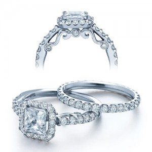 Verragio Platinum Insignia Engagement Ring INS-7005