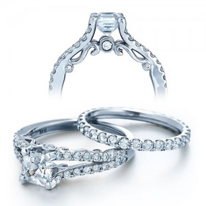 Verragio Platinum Insignia Engagement Ring INS-7008