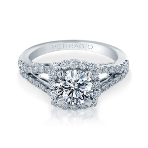 Verragio Platinum Insignia Engagement Ring INS-7046