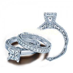 Verragio Venetian-5009P Platinum Engagement Ring
