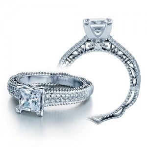 Verragio Venetian-5011P Platinum Engagement Ring